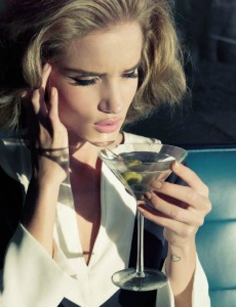 "Dolina šezdesetih: Rosie Huntington-Whiteley za ""Harper's Bazaar UK"""
