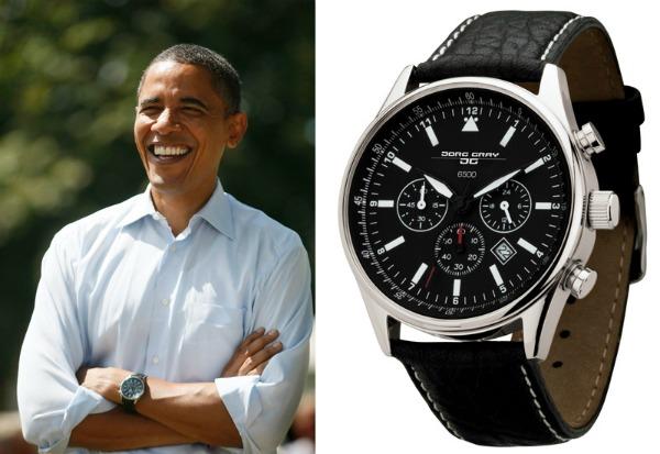 Predsednikov sat Jorg Grej 6500 picnik Stil moćnih ljudi: Obama više ne eksperimentiše