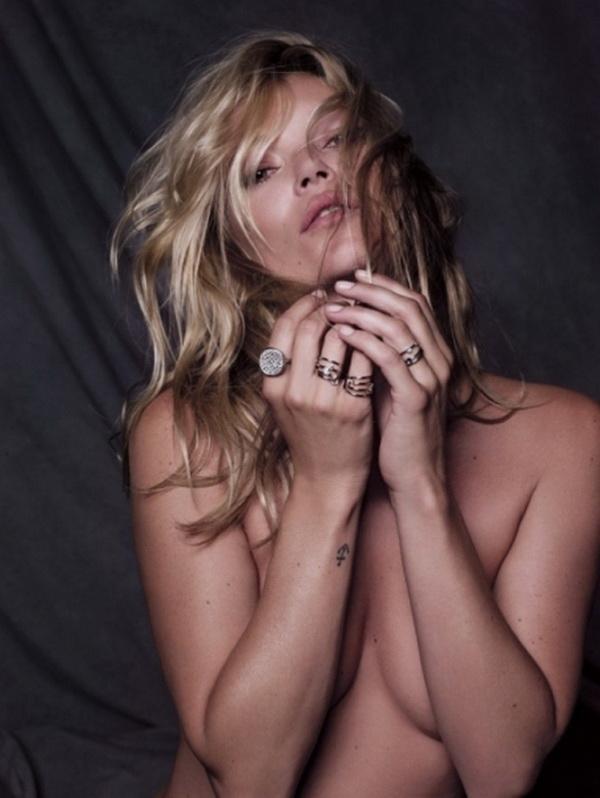 Prstenje koje ide uz sve stilove Kate Moss u Fred Jewelry kampanji