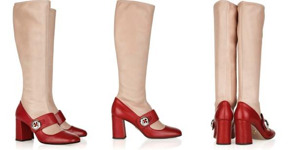 RUNWAY TO GREEN prada mary jane leather boots Da Vinci XXI: Neverovatna kuća iz snova Naomi Campbell