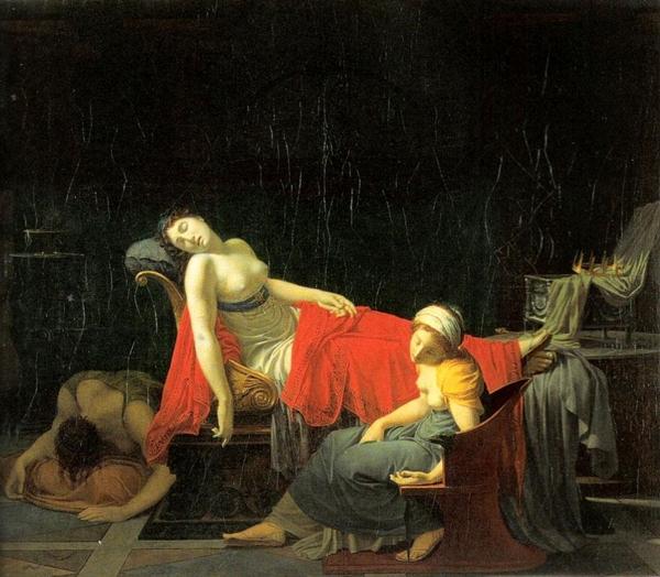 Regnault Jean Baptiste The Death of Cleopatra1 Slava sa dva lica: Κλεοπάτρα