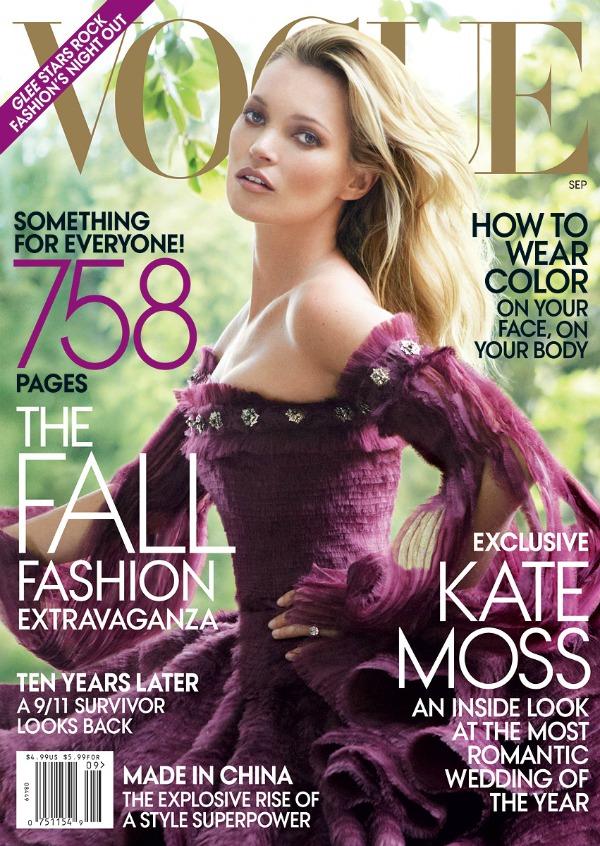 "Septembar2 Godina kroz naslovnice: Magazin ""Vogue"""