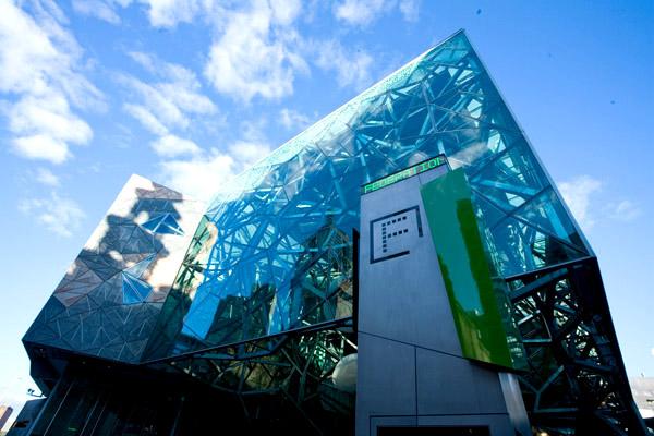 Slika 38 Trk na trg: Federation Square, Melburn