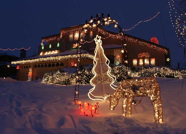 Slika92 Top 10 najlepše ukrašenih kuća