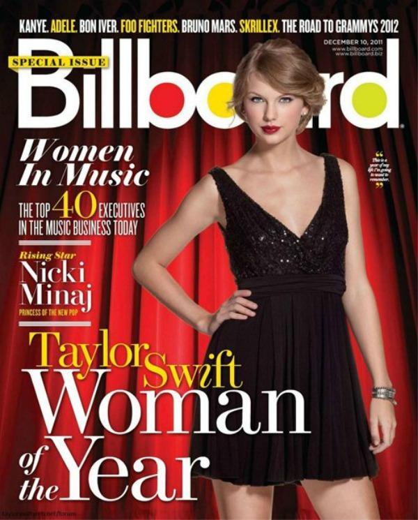 Taylor Swift Billboard Magazine 2011a Trach Up   Nevinost i Hičkok