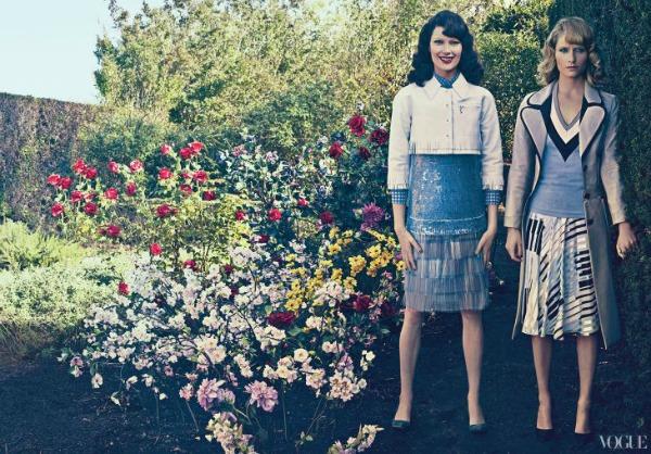 Vice Versa Steven Klein3a Amber Valletta & Shalom Harlow za Vogue US