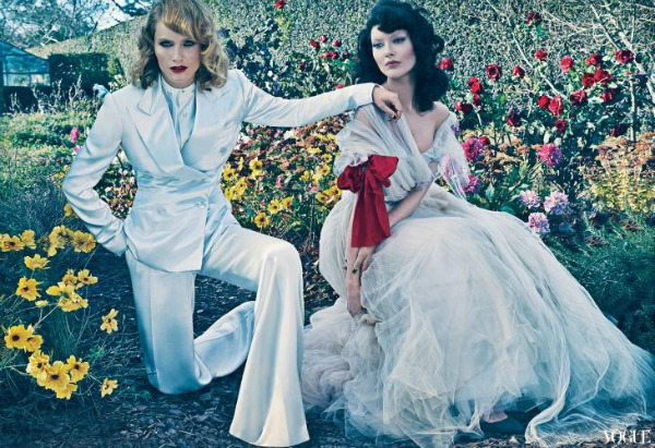 Vice Versa Steven Klein4a Amber Valletta & Shalom Harlow za Vogue US