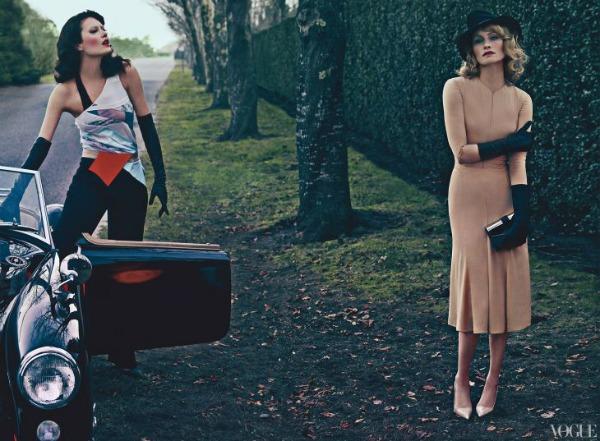 Vice Versa Steven Klein6a Amber Valletta & Shalom Harlow za Vogue US