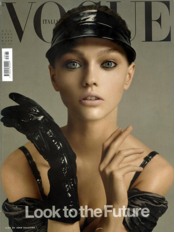 Vogue4 Manekenka za primer: Sasha Pivovarova
