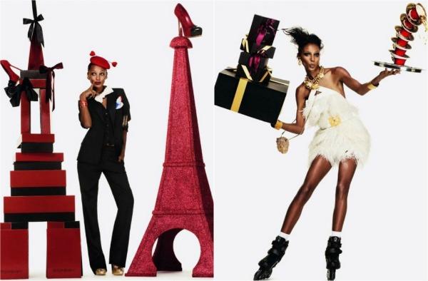 YSL Versace Vogue Paris: Srećni praznici
