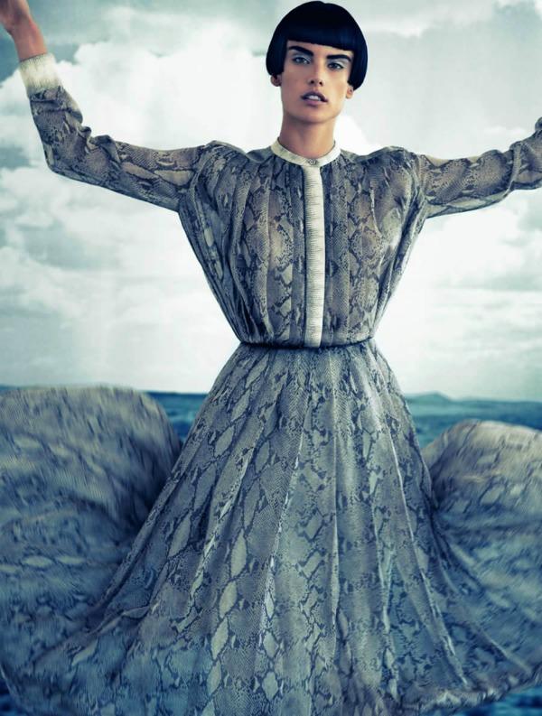 a 1 Alessandra Ambrosio za Muse: Androgeni anđeo