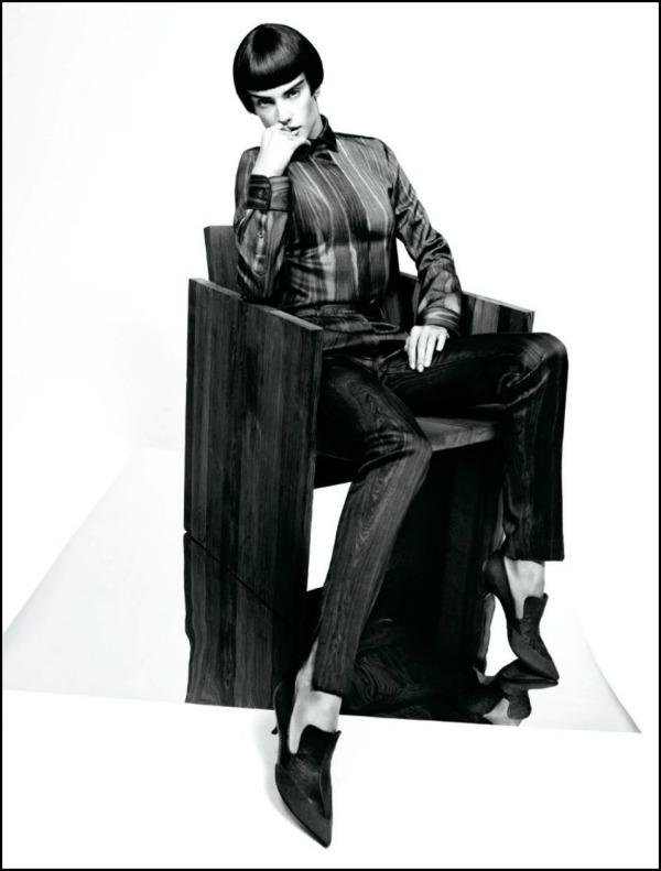 a 3 Alessandra Ambrosio za Muse: Androgeni anđeo