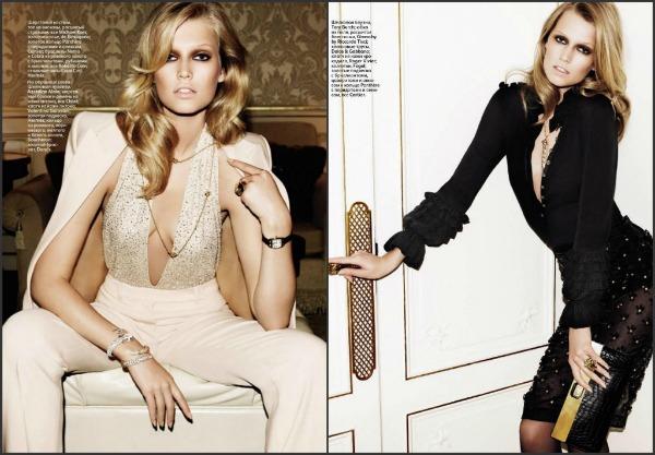 a2 Poput Parižanke: Toni Garrn za Vogue Russia