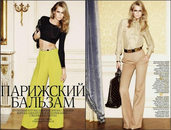 aaaa1 Poput Parižanke: Toni Garrn za Vogue Russia