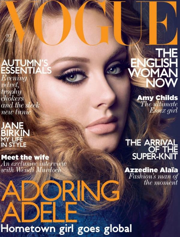 """adele1zzzzzzzzzzzzzzzzzzzzzzzzzz Godina kroz naslovnice: Magazin """"Vogue"""""""