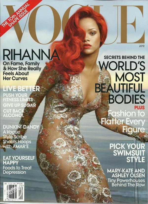 """april Godina kroz naslovnice: Magazin """"Vogue"""""""