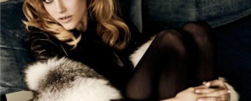 """Vamp: Ashley Smith za """"Vogue Mexico"""""""