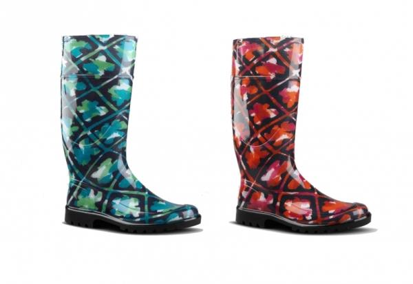 burberry rubber boots 2012 winter set2 Burberry voli gumu