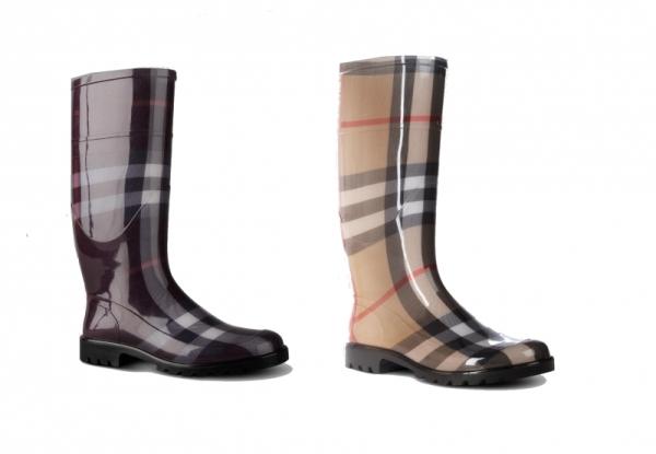burberry rubber boots 2012 winter set5 Burberry voli gumu