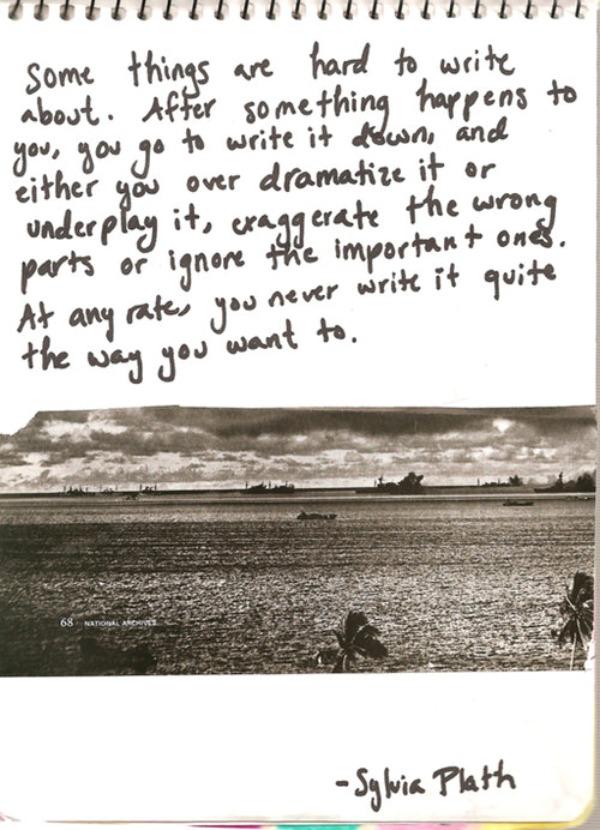 foto31 Flertovanje sa strašću i smrću: Sylvia Plath