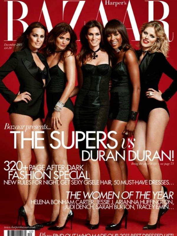 harpersbazaardecember2011cover 3 thumb Godina kroz naslovnice: Harpers Bazaar