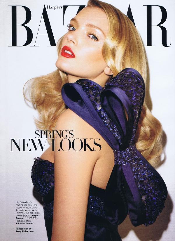 januar lili donald Godina kroz naslovnice: Harpers Bazaar