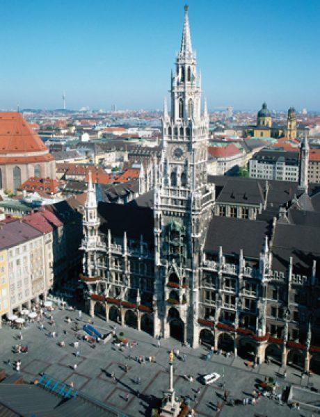 Trk na trg: Marienplatz, Minhen