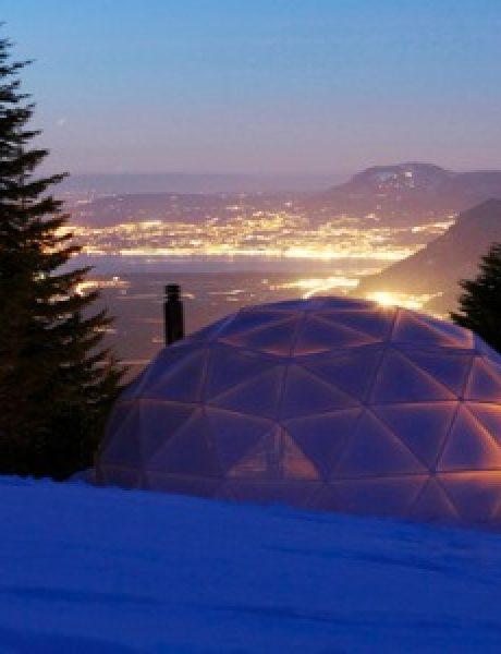Whitepod: futuristički dizajn u službi ekologije