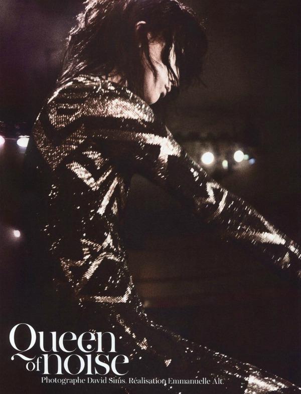 raquel zimmermann1a I love Rock n Roll: Raquel Zimmermann za Vogue Paris