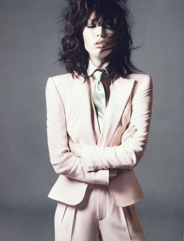raquel zimmermann3a I love Rock n Roll: Raquel Zimmermann za Vogue Paris
