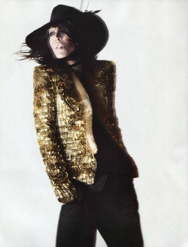 raquel zimmermann7a I love Rock n Roll: Raquel Zimmermann za Vogue Paris