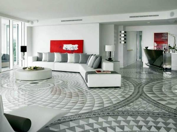 slika 64 Enterijer ispunjen mozaicima