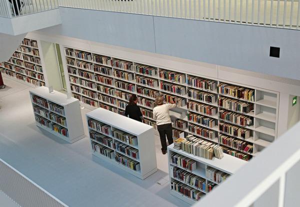 slika23 Neobične biblioteke: Nova gradska biblioteka u Štutgartu
