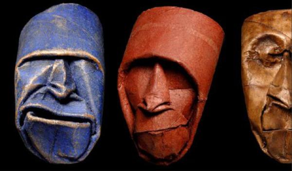 slika34 Umetnost od papira: Bube, činije i maske