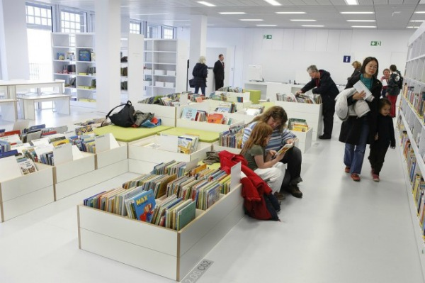 slika42 Neobične biblioteke: Nova gradska biblioteka u Štutgartu