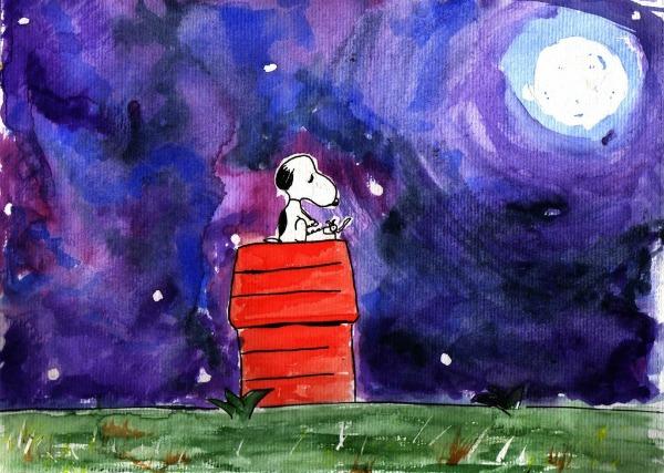 snoopy tribute by WOLFJPG Ispovest jednog psa