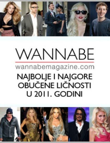 Wannabe Magazine: Najbolje & najgore obučeni u 2011.