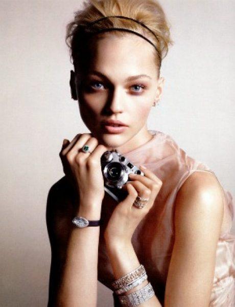 Manekenka za primer: Sasha Pivovarova