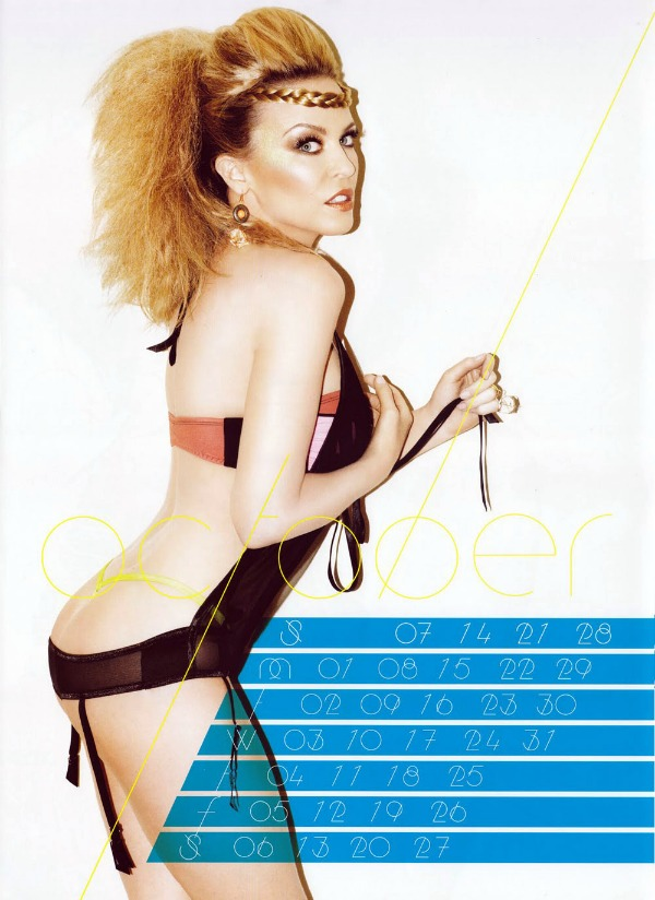 101 Kylie Minogue u kalendaru: Moćna Afrodita