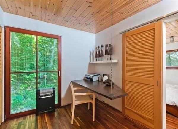11.Radna soba koja ne zauzima puno mesta jer je ova kuca predvidjena za odmor Vikendica Halle Berry: Vaša je za milion dolara