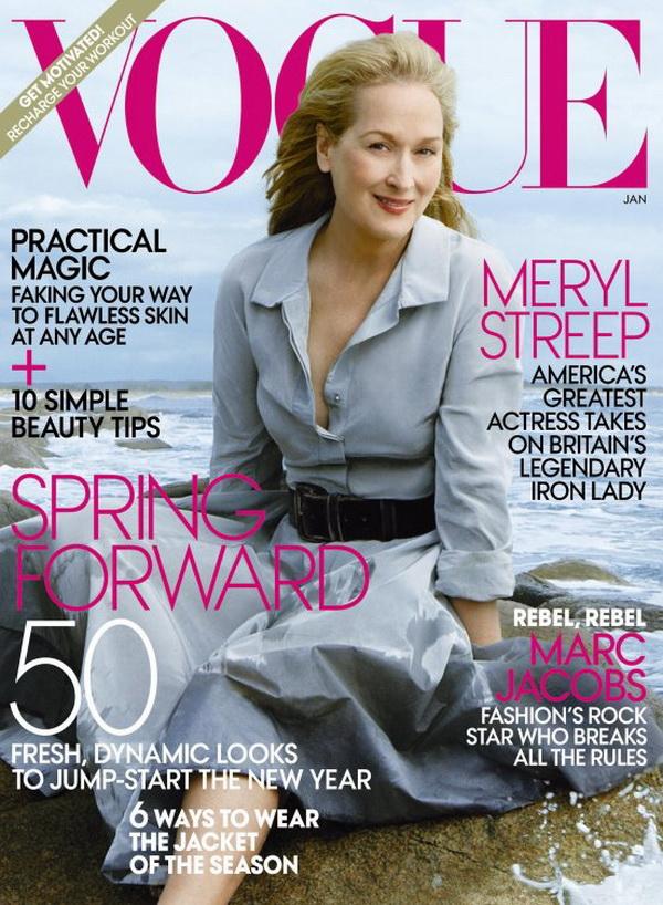 13 Meryl Streep ispred objektiva Annie Leibovitz za Vogue