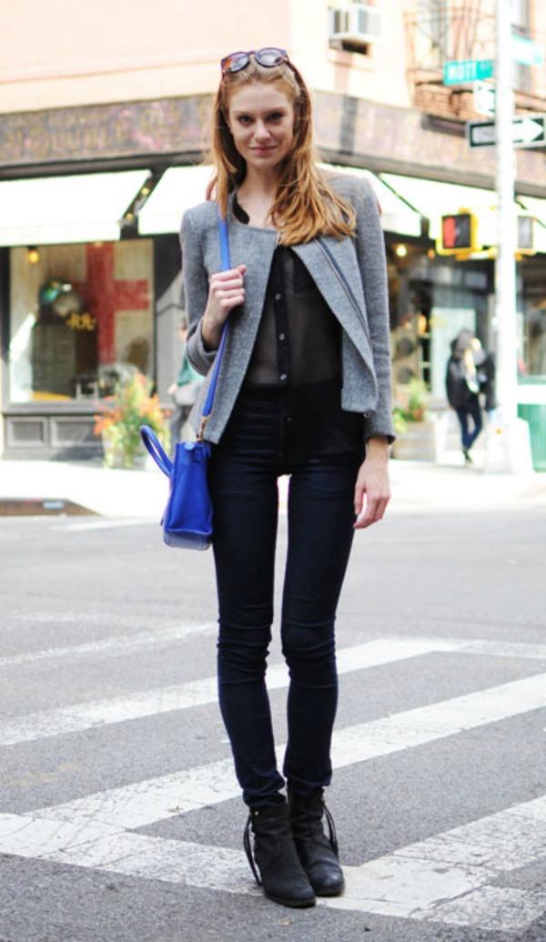 133 New York Street Style: Sa stilom i u novoj godini