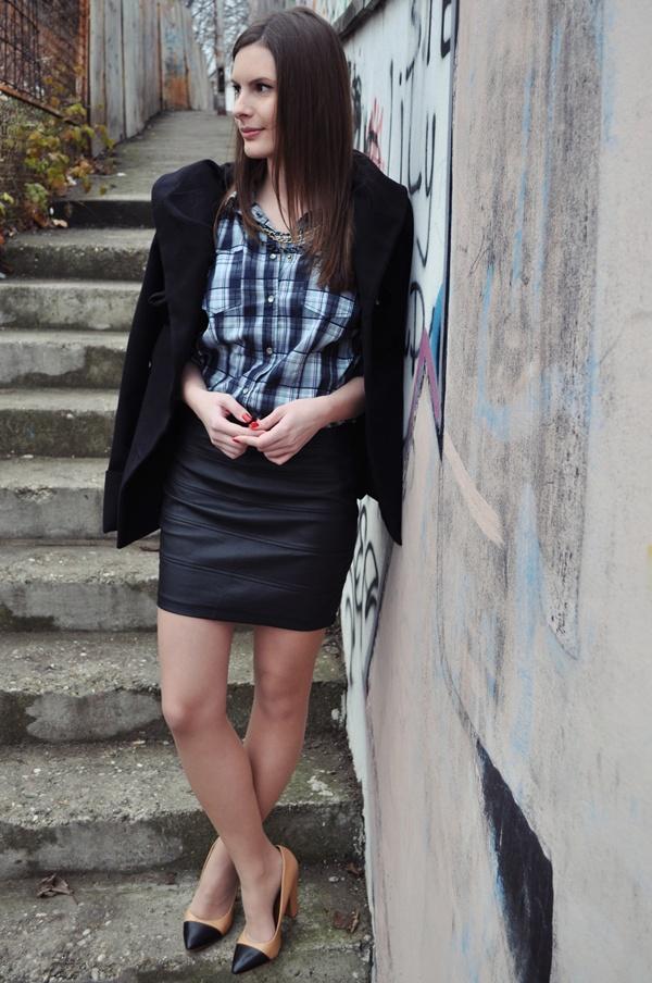 141 Modni predlog Aleksandre Skorupan: Kako nositi kožnu suknju