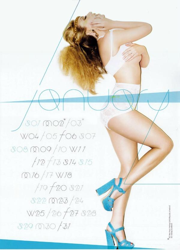 17 Kylie Minogue u kalendaru: Moćna Afrodita