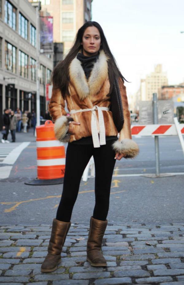 224 New York Street Style: Sa stilom i u novoj godini
