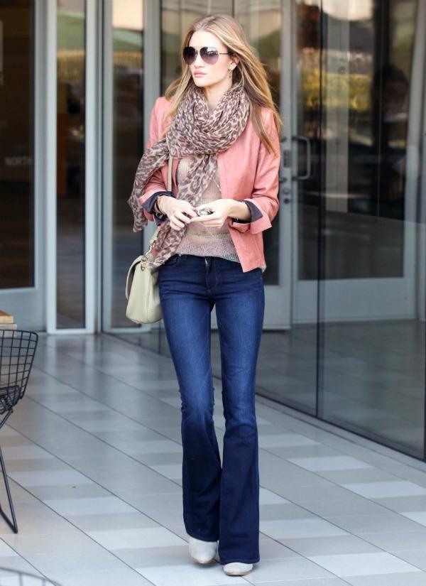 228 Street Style: Rosie Huntington Whiteley