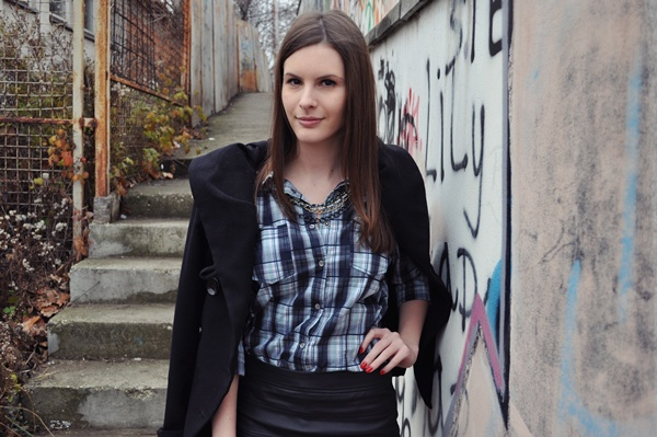 231 Modni predlog Aleksandre Skorupan: Kako nositi kožnu suknju