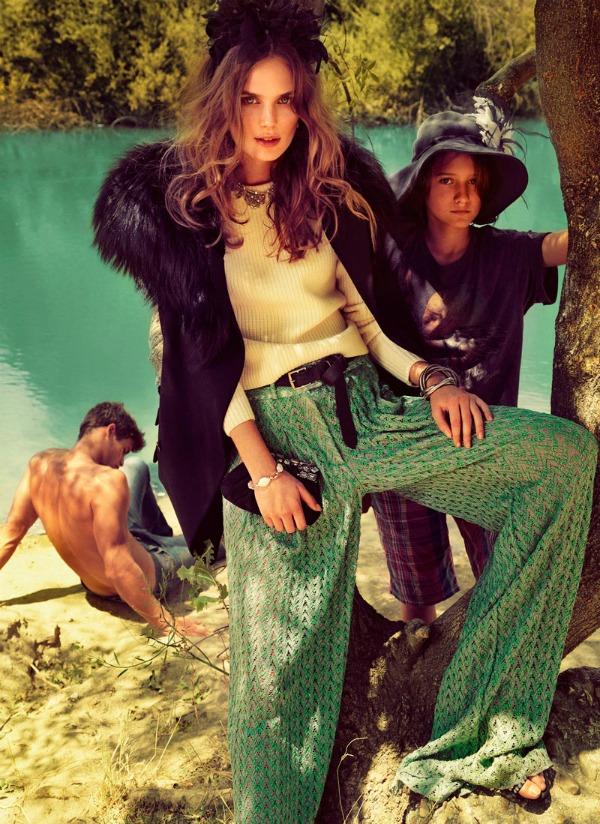 410 Vogue Spain: Letnji osećaj
