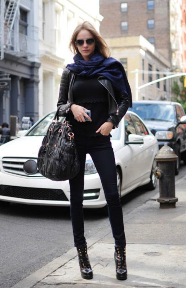 422 New York Street Style: Sa stilom i u novoj godini