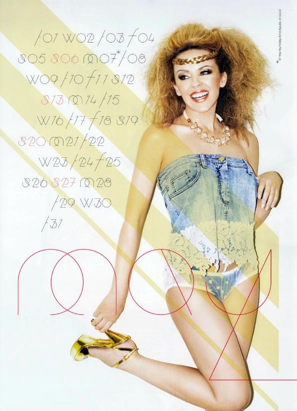 54 Kylie Minogue u kalendaru: Moćna Afrodita